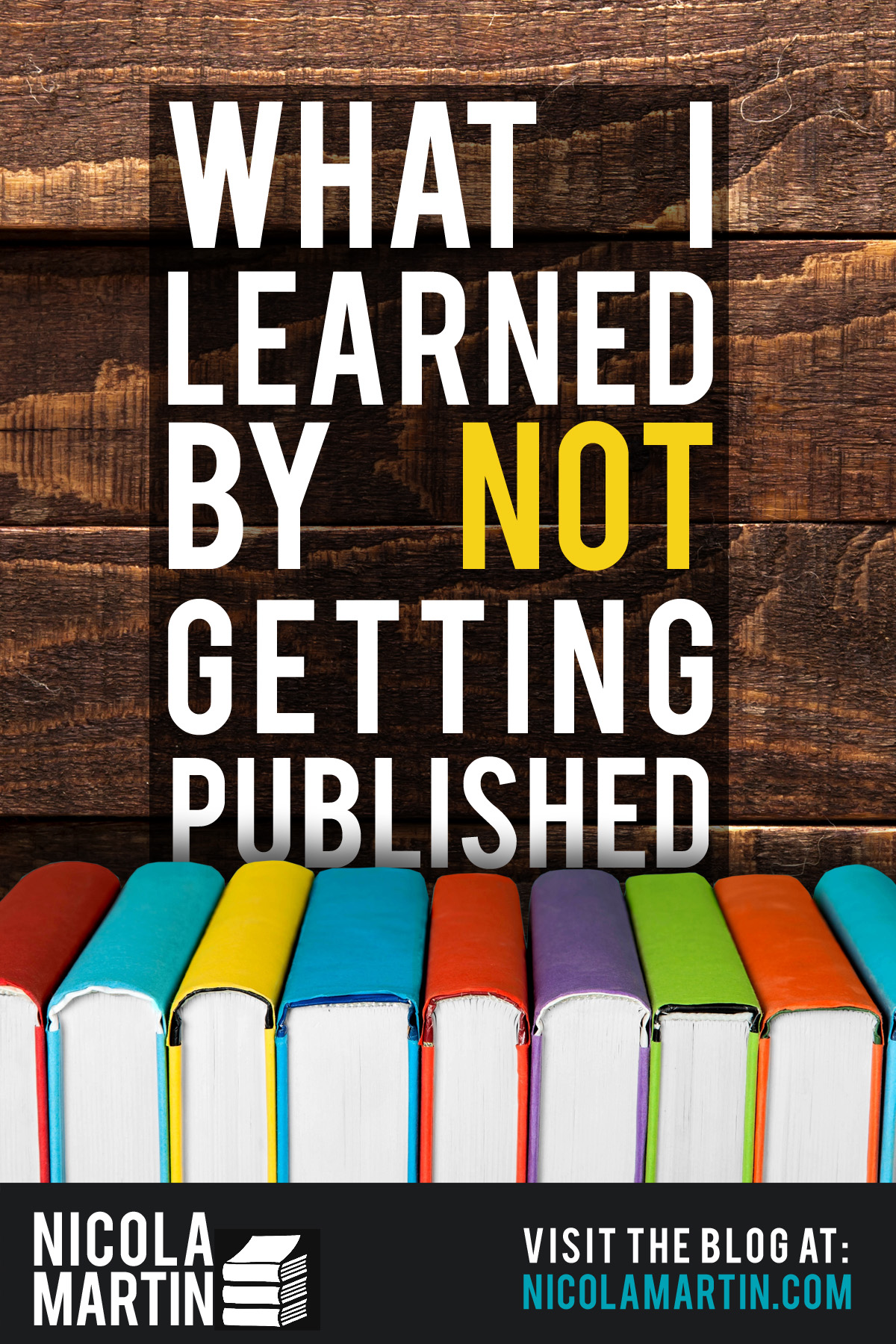 What I learned by NOT getting published