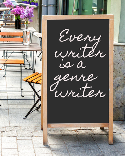 Every writer is a genre writer