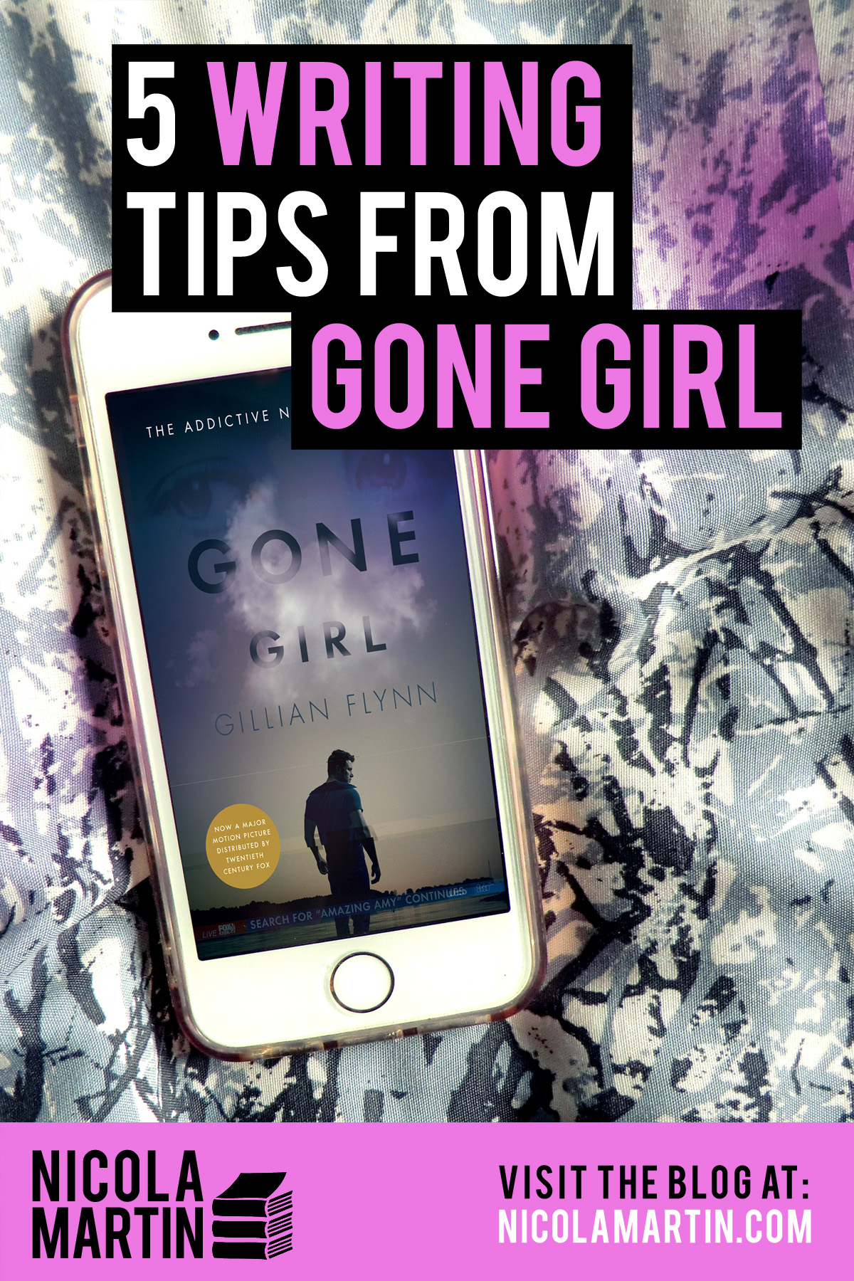 5 writing tips from Gone Girl by Gillian Flynn
