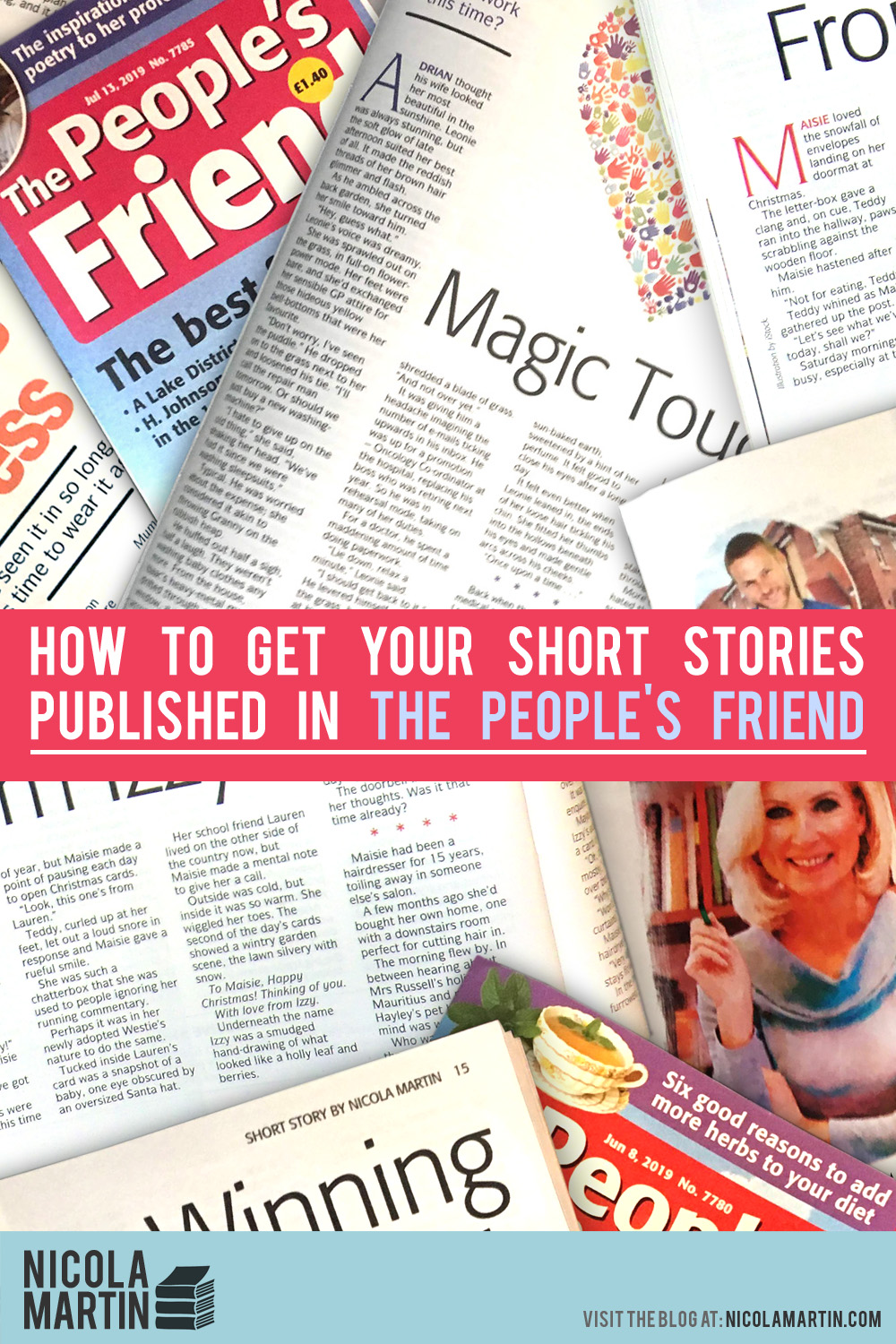 How to get your short stories published in The People's Friend