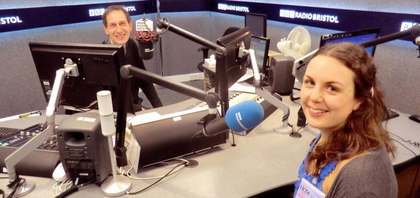 BBC Radio Bristol interview with Nicola Martin