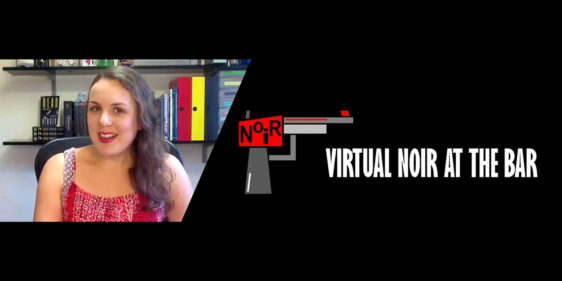 Nicola Martin at Virtual Noir at the Bar